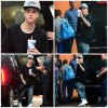 15.05 – Justin quitte un studio d'enregistrement, New-York