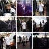 17.05 - Justin sur la croisette de Cannes en France