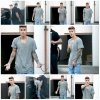 29.05 - Justin quitte un restaurant de Los Angeles, CA