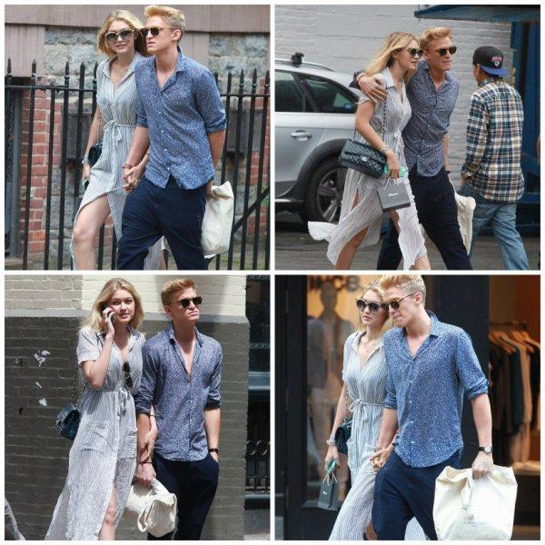 31 mai: Cody et Gigi repéré à New York