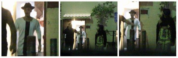 19.06 - Justin dans les rues de Los Angeles