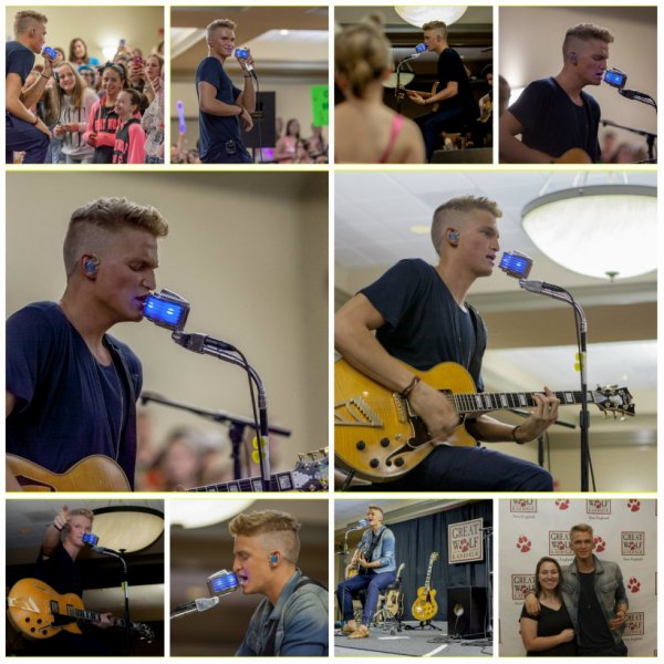 13 juin et 14: Cody au Great Wolf Lodge dans le Massachusetts