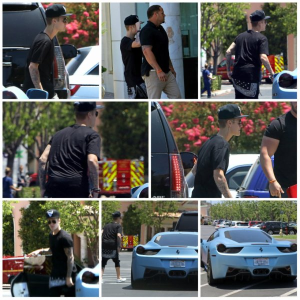 24.06 - Justin s'arrête à une bijouterie,