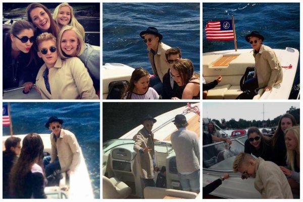 Cody repéré sur un bateau à Oslo