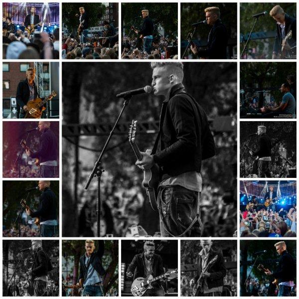 20 juin: Cody effectuer au VG-Lista à Oslo, Norvège