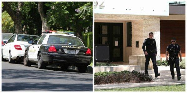 27.06 - La police devant chez Justin pour tapage incessant, Los Angeles