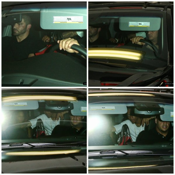 26.06 - Justin quitte la boîte de nuit 'Bootsy Bellows' à West Hollywood