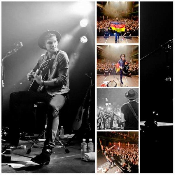 24 juin: Cody effectuer à Hambourg, Allemagne