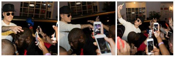 3.07 – Justin en dehors d'une discothèque à Miami Beach, Floride