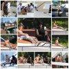 03.07 - Justin sur un yacht à Miami, Floride
