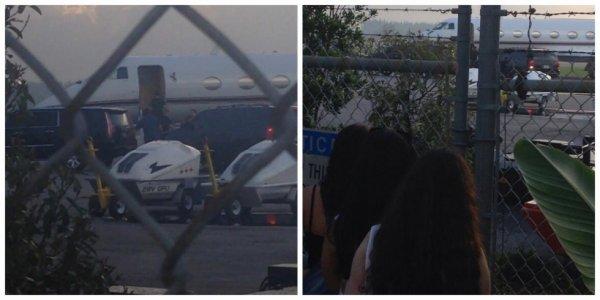 05.07 - Justin prend un avion direction le Canada, Miami