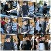 08.07 – Justin quitte le restaurant II Pastaio à Berverly Hills