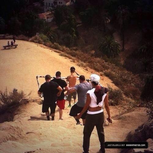 14.07 - Justin au Runyon Canyon ,