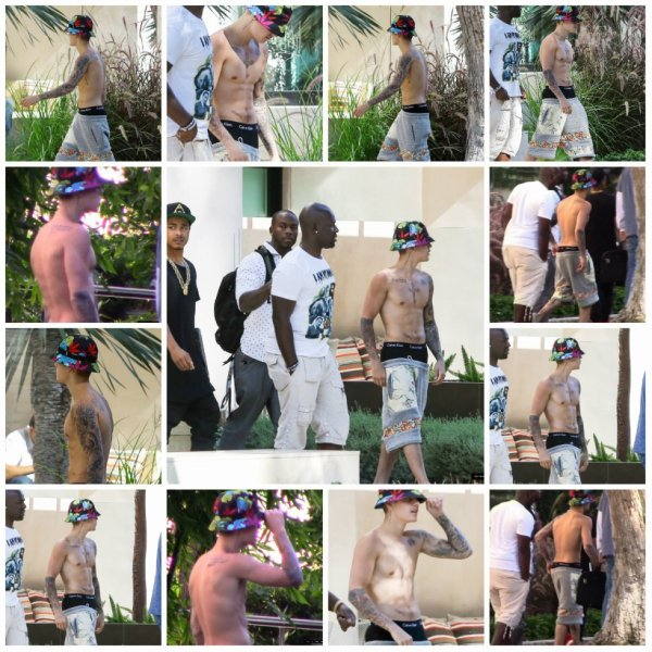 18.07 - Justin à Beverly Hills, Californie