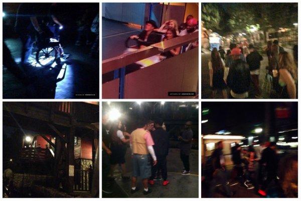 18.07 - Justin à Disneyland