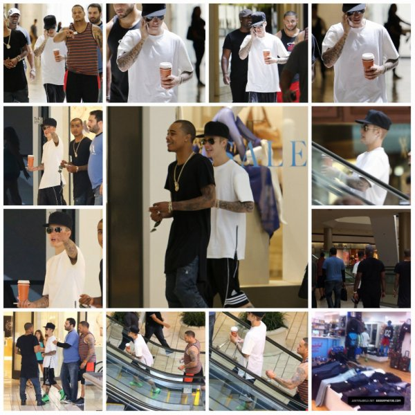 "21.07 – Justin à ""The Beverly Center"", Los Angeles"