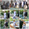 25.07 – Justin sortant du tribunal de Santa Monica, Californie