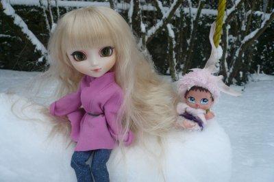 Dans la neige (2)