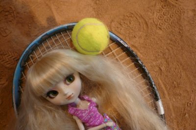 Sakura au tennis