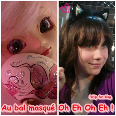 ♪ Au bal masqué Oh Eh Oh Eh ♫