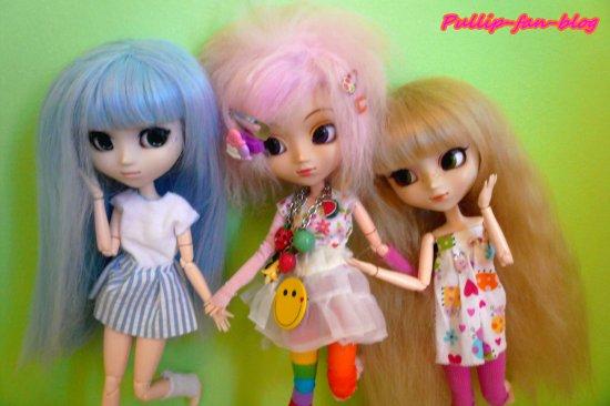 Mon p'tit trio ♥