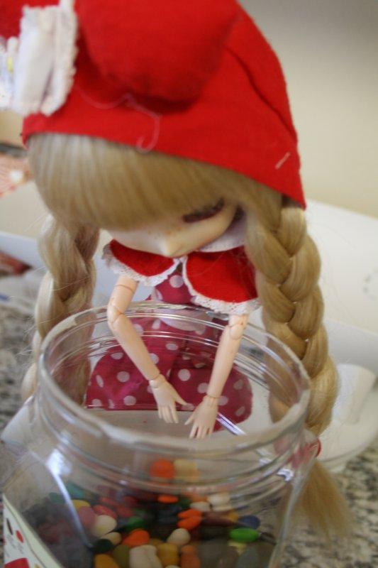 Sakura dans la cuisine :x