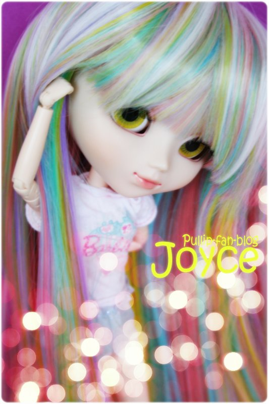 La nouvelle wig de Joyce !