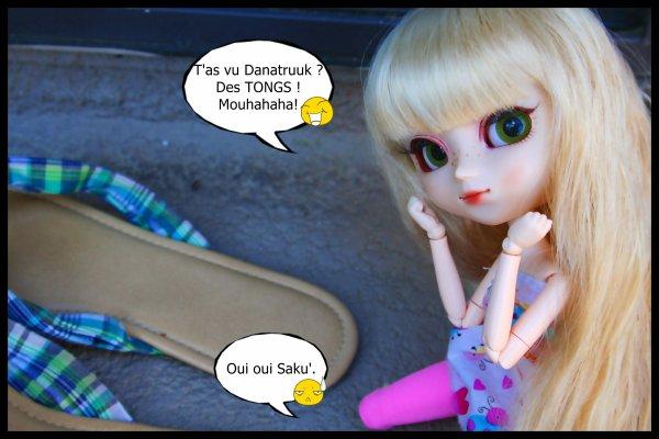 Photostory : Les tongs