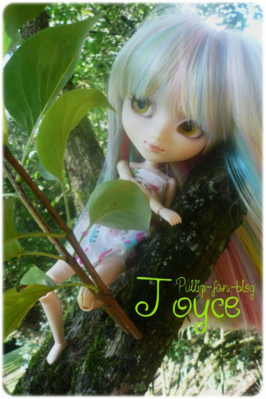 Joyce in the garden