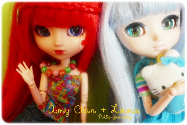 Louna & Amy Chan ♥