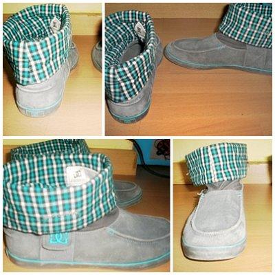 Chaussure DC Taille 38 Je les ai payé 80euros. Je les ai mises très peu. Elles sont en bonne état même vraiment bon. Je veux un prix équivalent pour cette vente. ;)