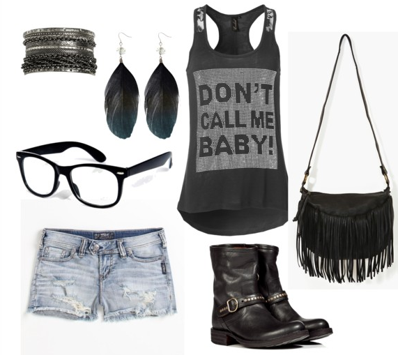 Tenue quotidienne/rock