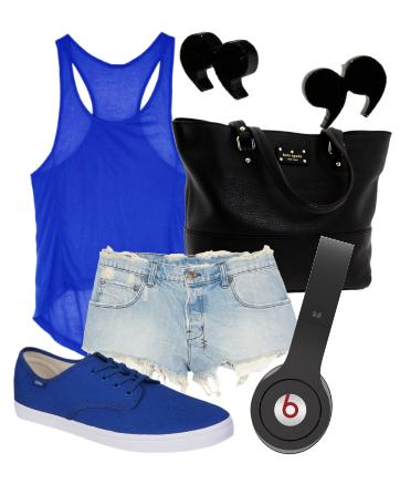 Commande n°2 : tenue quotidienne bleu