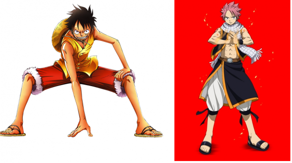 Fairy Tail et One Piece....