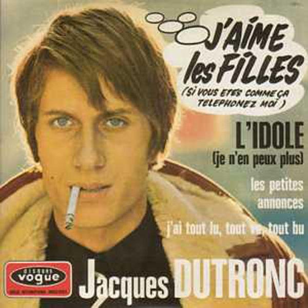 1967   Jacques Dutronc   -  J'aime les filles