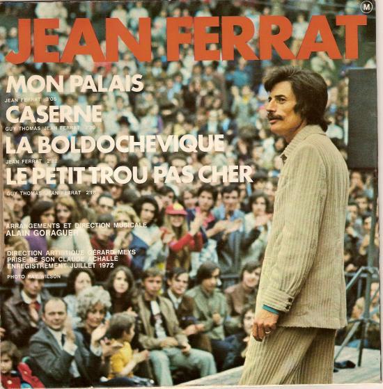 1971   Jean Ferrat - « Aimer à perdre la raison » + sous-titres