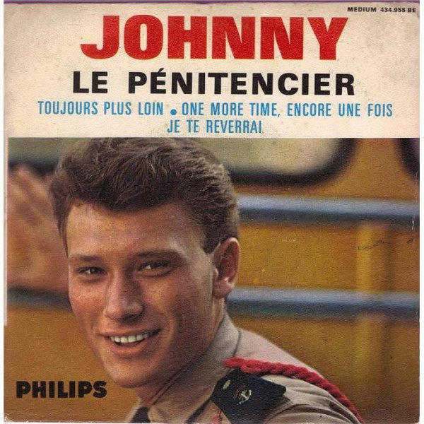 1964  le penitentier   JOHNNY HALLYDAY