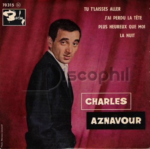 Charles Aznavour chante Tu t'laisses aller  1960