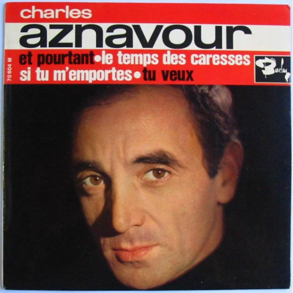 Charles Aznavour  Les comediens  1962