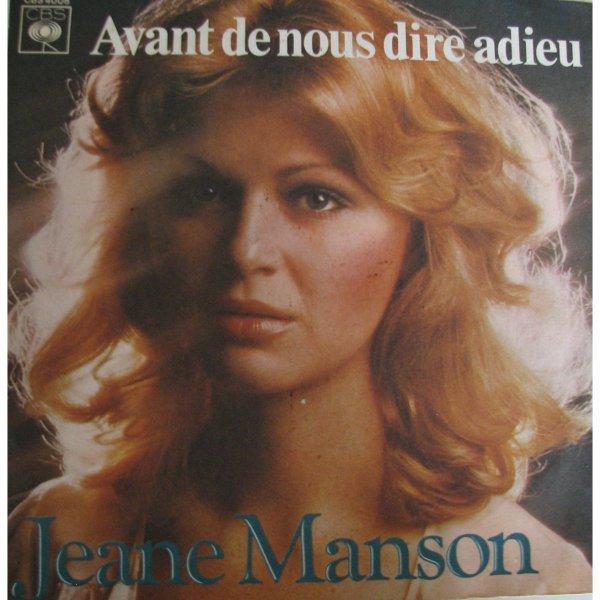 1976  Jeane Manson / Avant de nous dire adieu