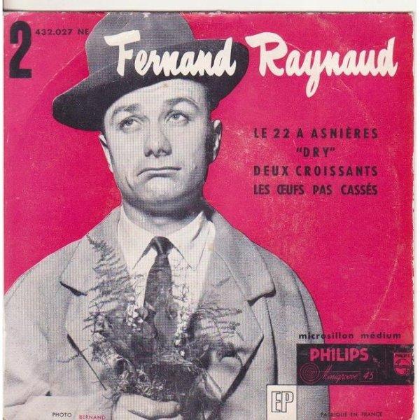 "1955 Fernand Raynaud ""Le 22 à Asnières"" - Archive INA"