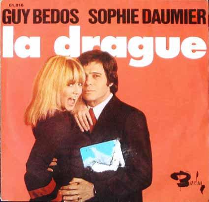 1972  Guy Bedos & Sophie Daumier - La Drague