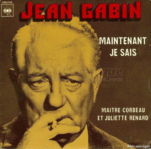 1974   Jean Gabin - Maintenant Je Sais