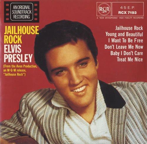 1957  Elvis Presley - Jailhouse Rock (Live)