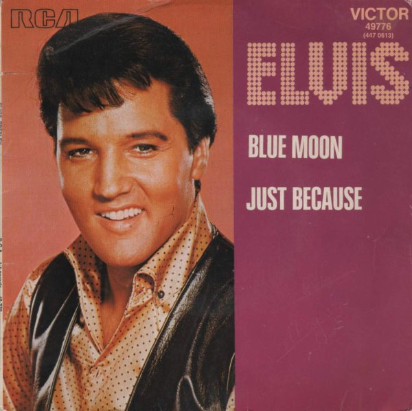1956  Elvis Presley - Blue Moon