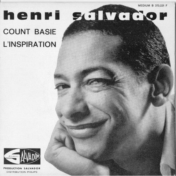 """1963   Henri Salvador  """" Count Basie """"  ( Lil' Darlin' )"""