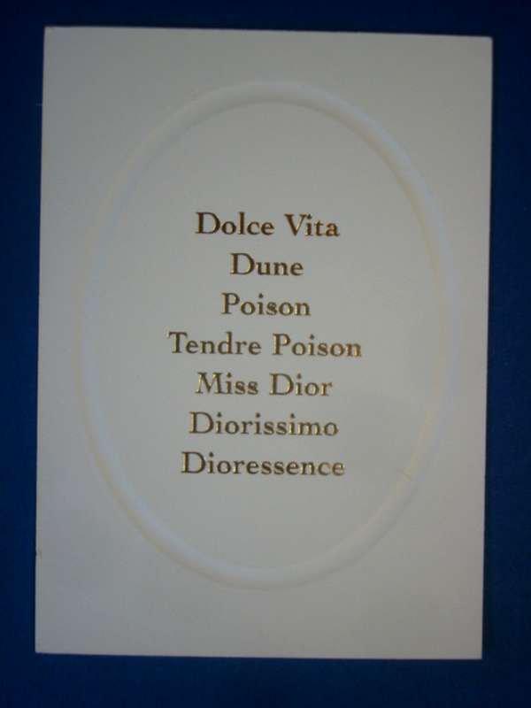 doubles DIOR (suite)