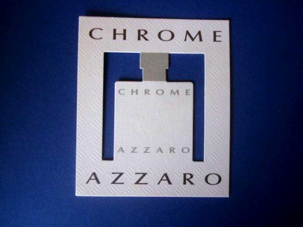 DOUBLES CARTES PARFUMEES AZZARO à la vente ou à l'échange...