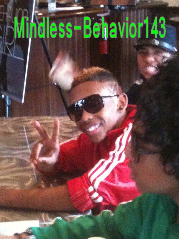 Le Mindless Behavior étaient à la nouvelle Orléans. :>