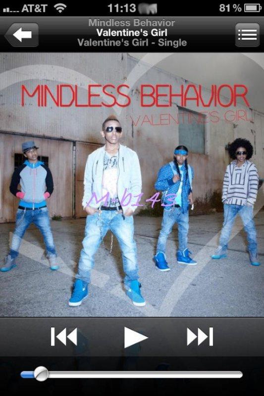 "Valentine's Girl- ""Mindless Behavior"" est sortie <3"
